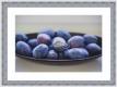 Moldura Azul com Friso Exterior Branco-1028I-3