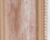 Moldura Vermelha e branca com friso Prata-1042I-2