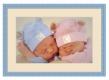 Moldura Azul bebé de 2.4 cm-202-4