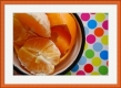 Moldura cerejeira/laranja de 2 cm-269-4