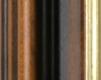Moldura Castanha com friso dourado-64-2