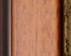 Moldura Castanha de 2 tons e friso dourado-71B-2