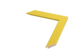 Moldura Amarela de 3cm