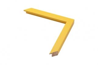 Moldura Amarela de 2 cm (1)